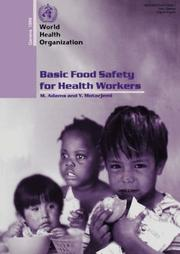 Cover of: Basic Food Safety for Health Workers