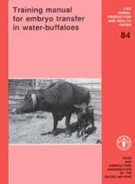 Cover of: Training Manual for Embryo Transfer in Water-Buffaloes