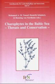 Cover of: Charophytes in the Baltic Sea. Threats and Conservation