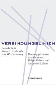 Cover of: Verbindungslinien