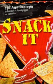 Cover of: Snack it.