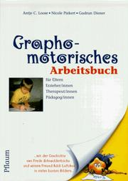Cover of: Graphomotorisches Arbeitsbuch.