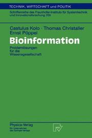 Cover of: Bioinformation