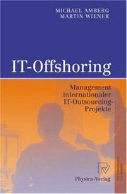 Cover of: IT-Offshoring