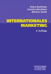 Cover of: Internationales Marketing.