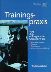 Cover of: Trainingspraxis.