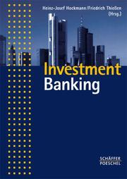 Cover of: Investment Banking.