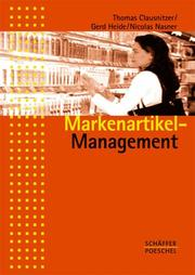 Cover of: Markenartikel- Management.