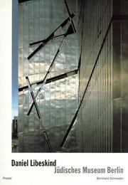 Cover of: Daniel Libeskind. Jüdisches Museum Berlin