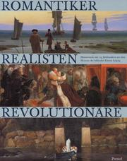 Cover of: Romantiker, Realisten, Revolutionäre.