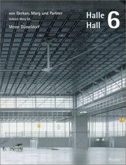 Cover of: Halle Hall 6 (Architecture)