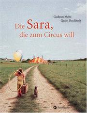 Cover of: Die Sara, die zum Circus will.