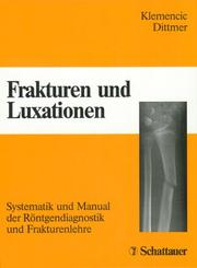 Cover of: Frakturen und Luxationen.