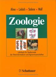 Cover of: Zoologie.