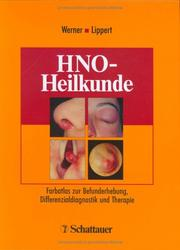 Cover of: HNO- Heilkunde.