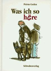 Cover of: Was ich so höre.