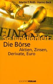 Cover of: So funktioniert