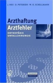 Cover of: Arzthaftung / Arztfehler