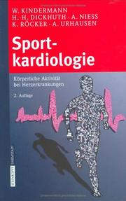 Cover of: Sportkardiologie