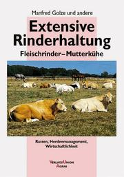Cover of: Extensive Rinderhaltung.