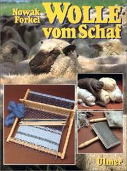 Cover of: Wolle vom Schaf.