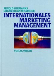 Cover of: Internationales Marketing - Management.