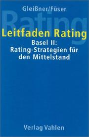 Cover of: Leitfaden Rating. Basel II