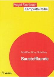 Cover of: Baustoffkunde.