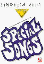 Cover of: Songbuch Special, Special Songs, Vol.1