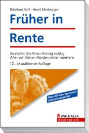 Cover of: Früher in Rente.