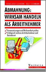 Cover of: Abmahnung