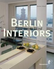 Cover of: Berlin Interiors. East meets West.
