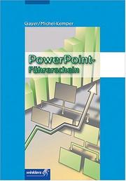 Cover of: Power- Point- Führerschein. (Lernmaterialien)