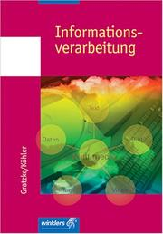 Cover of: Informationsverarbeitung. (Lernmaterialien)