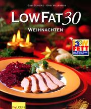 Cover of: Low Fat 30. Weihnachten.