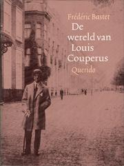 Cover of: De wereld van Louis Couperus