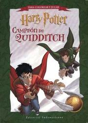 Cover of: Harry Potter Campeon de Quiddi - Block Actividades