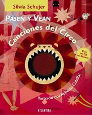 Cover of: Pasen y Vean Canciones del Circo - Con CD