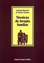 Cover of: Tecnicas de Terapia Familiar