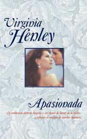 Cover of: Apasionada (Romanticos / Romantics)