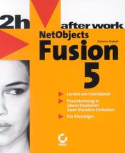 Cover of: NetObjects Fusion 5. After Work.