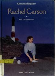 Cover of: Rachel Carson: who loved the sea