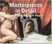 Cover of: Masterpieces in Detail (Taschen Tear-off Calendar)