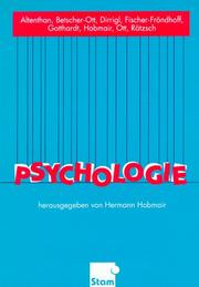 Cover of: Psychologie. (Lernmaterialien)