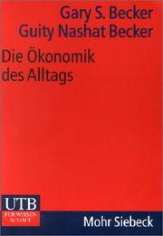 Cover of: Die Ökonomik des Alltags.