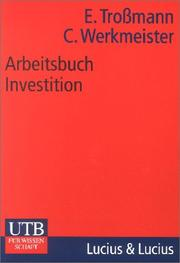 Cover of: Arbeitsbuch Investition.