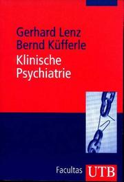 Cover of: Klinische Psychiatrie.