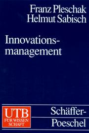 Cover of: Innovationsmanagement.