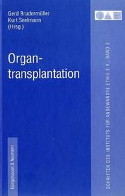 Cover of: Organtransplantation.