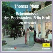 Cover of: Felix Krull. 13 CD